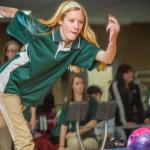 Girls Varsity Bowling shut out Bristol's bowlers 4-0