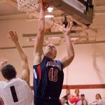 Brett Moyer Hits 1,000 Points for DeSales
