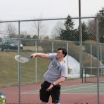 Boys Varsity Tennis falls to Church Farm 1-6