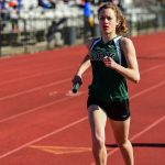 New Faces and District Qualifiers Lead Dock Girls Track to Victory!
