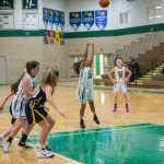 Girls Basketball comes up short-handed vs The Christian Academy