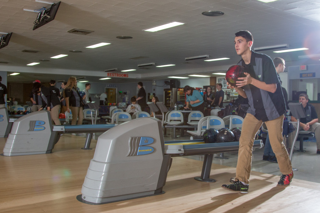 Dock Bowling Rolls Past Holy Ghost