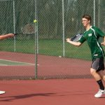 Boys Varsity Tennis falls to New Hope
