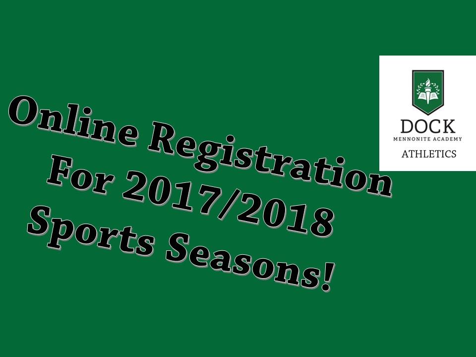 Winter Sports Registrations