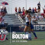Jill Bolton ('17) Scores First Career Collegiate Goal