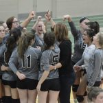 Dock V Volleyball Ends Regular Season With Win