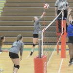 Dock Girls V Volleyball Rebounds With Win Over FCA