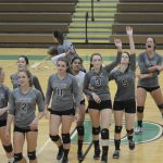 V Volleyball Fall to League Rival New Hope