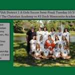 Dock Girls Soccer District 1 A Semi-Final