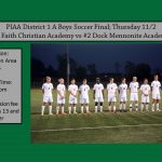 Dock Boys Soccer District Finals