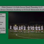 Dock Girls Soccer District Final