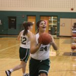 Girls Middle School Basketball beats Coventry Christian School
