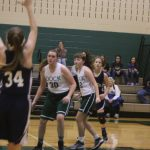 Girls Middle School Basketball falls to Penndale Middle School