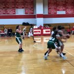 Girls Basketball Battles to the Buzzer With Bristol