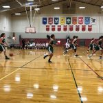 Girls Basketball at ANC 2/1