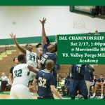 Boys Basketball BAL Championship Game