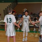 Boys Middle School Basketball falls to Indian Crest