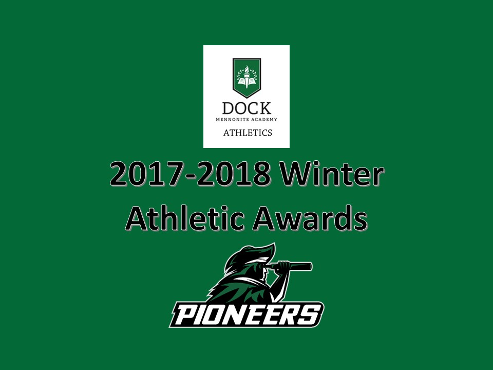 2017-2018 Winter Athletic Awards Recipients