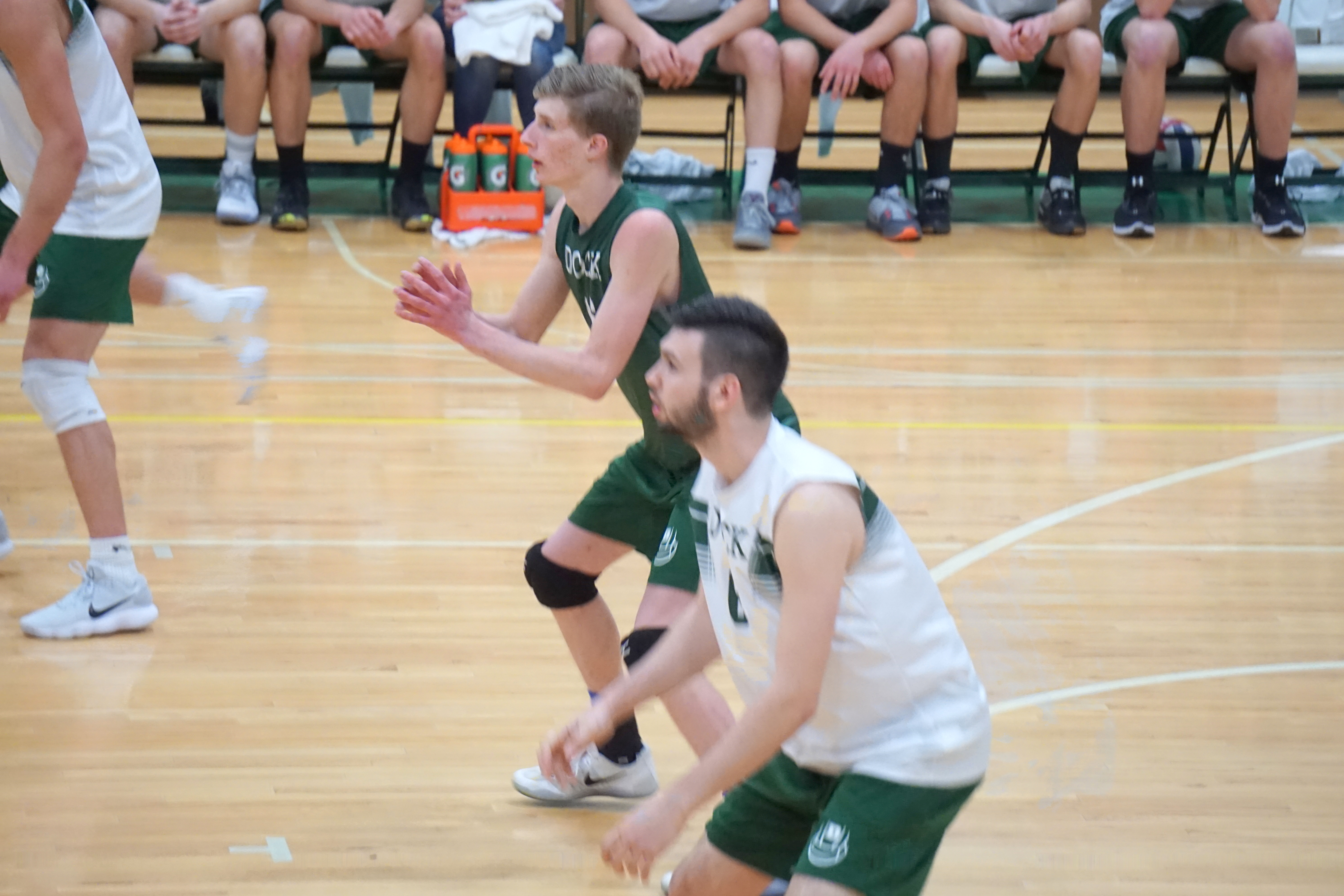 Varsity Volleyball Holds Off Fighting Fords