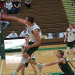 Lincoln Bergey ('18) Defensive Powerhouse For Liberty Volleyball