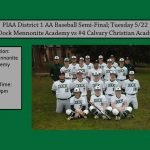 Baseball District 1 AA Semi-Final