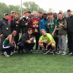 Boys Track and Field Dominates at District Meet