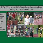 Boys and Girls Track and Field Competing at State Meet