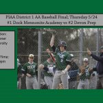 Baseball District Final 5/24