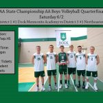 Boys Volleyball AA State Playoffs Quarter-Finals