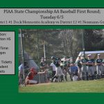 Baseball State Playoffs First Round