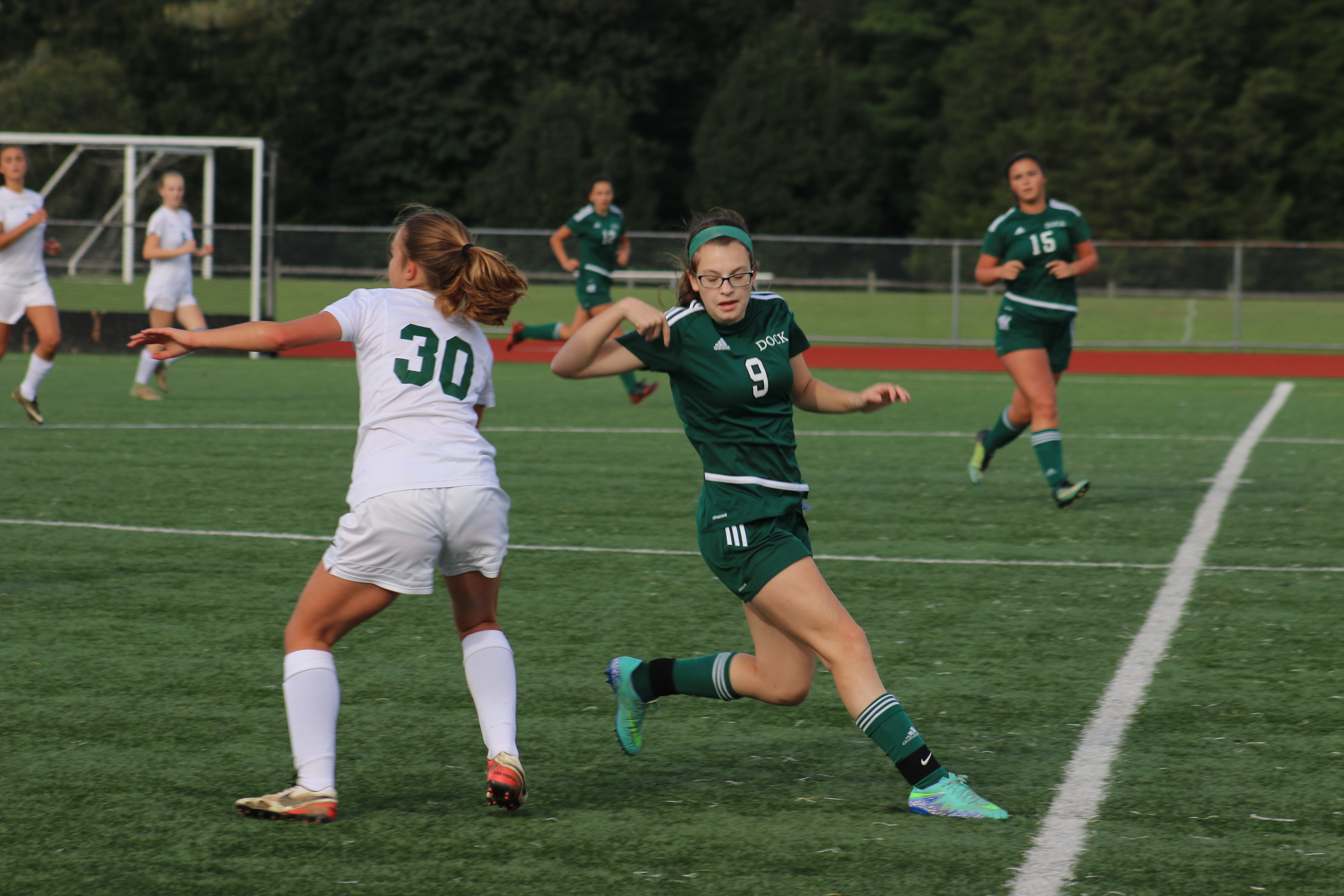 Girls Soccer Controls Play to Lead to Victory