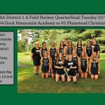 Field Hockey District 1 A Quarter Final 10/23
