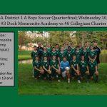 Boys Soccer PIAA District 1 A Quarterfinal 10/24