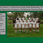 Girls Soccer PIAA District 1 A Semi-Final 10/24