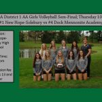 Girls Volleyball PIAA District 1 AA Semi-Final 10/25