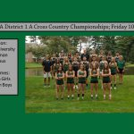 Cross Country District Championships 10/26