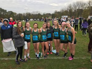 Cross Country at District Championships 10/26