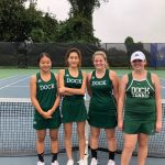 Successful Girls Tennis Season Leads to District Acheivements