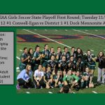 Girls Soccer PIAA State Playoffs First Round 11/6