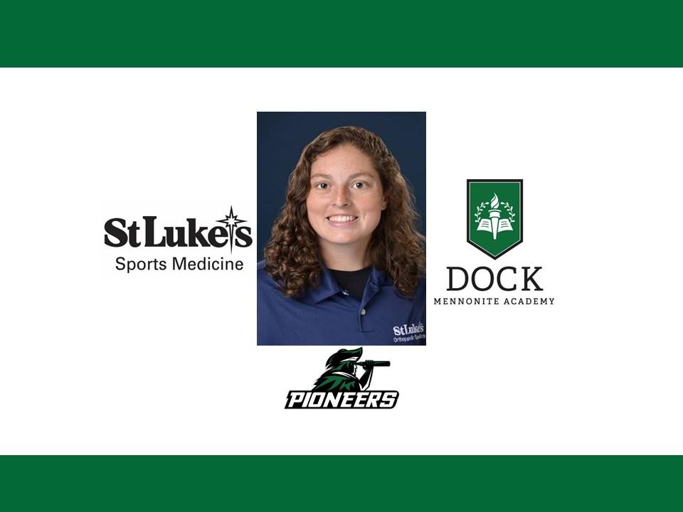 Dock Mennonite Academy and St. Luke's Launch Sports Medicine Partnership