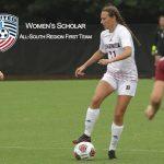 Kratz ('15) Named To Women's Scholar All-South First Team