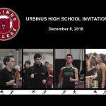 Ursinus High School Invitational - Dec. 8, 2018