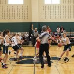 Girls Middle School Basketball Ends Season With a Loss to Pennfield