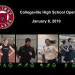 Collegeville High School Open - January 6, 2019