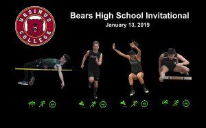 Bears High School Invitational – January 13, 2019