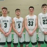 Dock V Basketball Sr. Night vs. Morrisville 2.1.19 (RD)