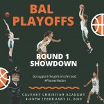 Girls Basketball on the road for Round 1 of BAL Playoffs