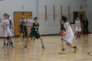 Dock MS Boys Basketball vs. Pennridge Central 2.14.19 (JL)