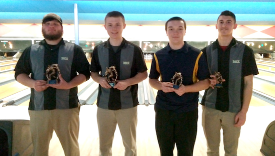 Dock bowlers bring home hardware