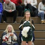 Cheerleading- District Semis vs Church Farm 2/21/19